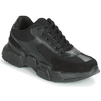 Παπούτσια Γυναίκα Χαμηλά Sneakers Yurban JILIBELLE Black