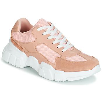 Παπούτσια Γυναίκα Χαμηλά Sneakers Yurban JILIBELLE Ροζ