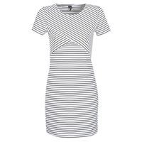 Υφασμάτινα Γυναίκα Κοντά Φορέματα Vero Moda VMVIGGA Άσπρο / Black