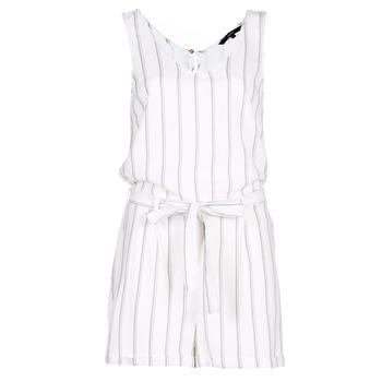Υφασμάτινα Γυναίκα Ολόσωμες φόρμες / σαλοπέτες Vero Moda VMANNA Άσπρο / Μπλέ