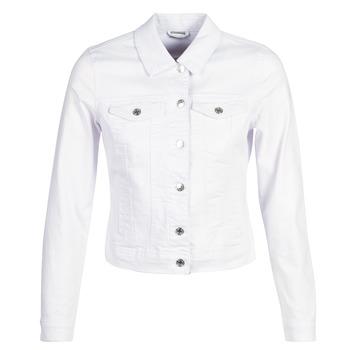 Υφασμάτινα Γυναίκα Τζιν Μπουφάν/Jacket  Vero Moda VMHOT SOYA Άσπρο