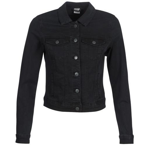 Υφασμάτινα Γυναίκα Τζιν Μπουφάν/Jacket  Vero Moda VMHOT SOYA Black