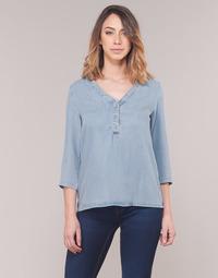 Υφασμάτινα Γυναίκα Μπλούζες Vero Moda VMTRUDY Μπλέ