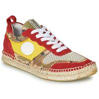 Παπούτσια Γυναίκα Χαμηλά Sneakers Pataugas MARCIA Yellow / Red