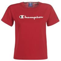 Υφασμάτινα Γυναίκα T-shirt με κοντά μανίκια Champion 111393-RIR Bordeaux