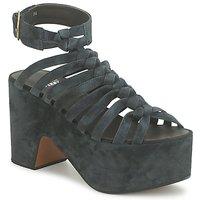 Παπούτσια Γυναίκα Σανδάλια / Πέδιλα Michel Perry 12676 Dark