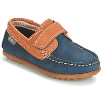 Παπούτσια Αγόρι Boat shoes Aster MICADO Marine / Cognac