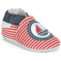 Παπούτσια Παιδί Σοσονάκια μωρού Robeez MY CAPTAIN Red / Μπλέ / Άσπρο