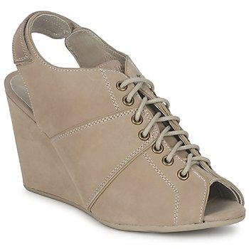 Παπούτσια Γυναίκα Χαμηλές Μπότες No Name DIVA OPEN TOE Beige
