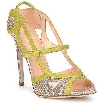 Παπούτσια Γυναίκα Σανδάλια / Πέδιλα Roberto Cavalli RPS678 Python / Green