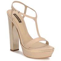 Παπούτσια Γυναίκα Σανδάλια / Πέδιλα Roberto Cavalli RDS735 Beige / Nude