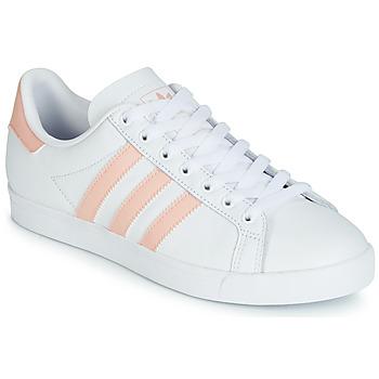 Παπούτσια Γυναίκα Χαμηλά Sneakers adidas Originals COURSTAR Άσπρο / Ροζ