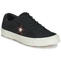Παπούτσια Γυναίκα Χαμηλά Sneakers Converse ONE STAR LOVE IN THE DETAILS SUEDE OX Black
