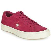 Παπούτσια Γυναίκα Χαμηλά Sneakers Converse ONE STAR LOVE IN THE DETAILS SUEDE OX Fushia