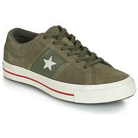 Παπούτσια Γυναίκα Χαμηλά Sneakers Converse ONE STAR CUIR FASHION BALLER SUEDE OX Kaki
