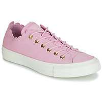 Παπούτσια Γυναίκα Χαμηλά Sneakers Converse CHUCK TAYLOR ALL STAR FRILLY THRILLS SUEDE OX Ροζ