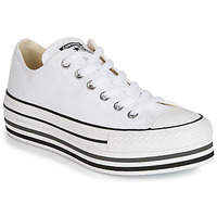Παπούτσια Γυναίκα Χαμηλά Sneakers Converse CHUCK TAYLOR ALL STAR PLATFORM EVA LAYER CANVAS OX Άσπρο