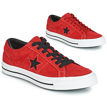 Παπούτσια Χαμηλά Sneakers Converse ONE STAR DARK STAR VINTAGE SUEDE OX Red