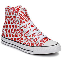 Παπούτσια Ψηλά Sneakers Converse CHUCK TAYLOR ALL STAR WORDMARK HI Red