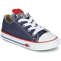Παπούτσια Κορίτσι Χαμηλά Sneakers Converse CHUCK TAYLOR ALL STAR SUCKER FOR LOVE DENIM OX Μπλέ