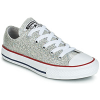 Παπούτσια Κορίτσι Χαμηλά Sneakers Converse CHUCK TAYLOR ALL STAR SPARKLE SYNTHETIC OX Grey