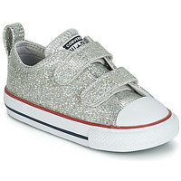 Παπούτσια Κορίτσι Χαμηλά Sneakers Converse CHUCK TAYLOR ALL STAR 2V SPARKLE SYNTHETIC OX Grey