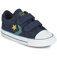 Παπούτσια Παιδί Χαμηλά Sneakers Converse STAR PLAYER 2V CANVAS OX Μπλέ