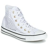 Παπούτσια Γυναίκα Ψηλά Sneakers Converse CHUCK TAYLOR ALL STAR HANDMADE CROCHET HI Άσπρο