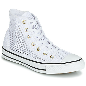 8997fa01253 Παπούτσια Γυναίκα Ψηλά Sneakers Converse CHUCK TAYLOR ALL STAR HANDMADE  CROCHET HI Άσπρο