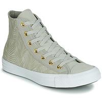 Παπούτσια Γυναίκα Ψηλά Sneakers Converse CHUCK TAYLOR ALL STAR SUMMER PALMS HI Green