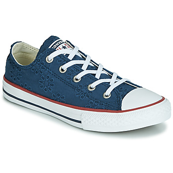 Παπούτσια Κορίτσι Χαμηλά Sneakers Converse CHUCK TAYLOR ALL STAR BROADERIE ANGLIAS OX Marine