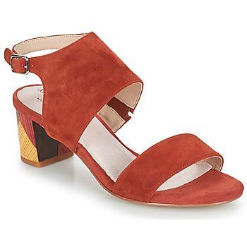 Παπούτσια Γυναίκα Σανδάλια / Πέδιλα Metamorf'Ose EMBARQUA Red