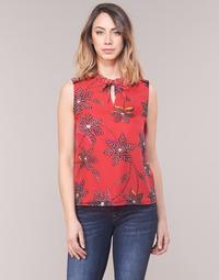 Υφασμάτινα Γυναίκα Μπλούζες One Step CLODIA Red