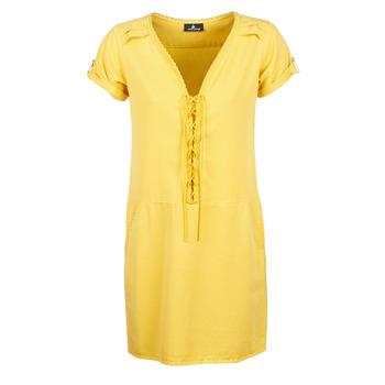 Υφασμάτινα Γυναίκα Κοντά Φορέματα One Step PATRICIA Yellow
