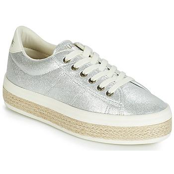 Παπούτσια Γυναίκα Χαμηλά Sneakers No Name MALIBU Silver
