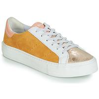 Παπούτσια Γυναίκα Χαμηλά Sneakers No Name ARCADE Άσπρο / Gold / Yellow