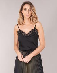 Υφασμάτινα Γυναίκα Μπλούζες Ikks BN11105-02 Black