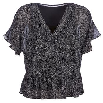 Υφασμάτινα Γυναίκα Μπλούζες Ikks BN11175-02 Black