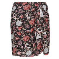 Υφασμάτινα Γυναίκα Φούστες Ikks BN27105-04 Black / Multicolore