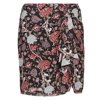 Υφασμάτινα Γυναίκα Φούστες Ikks BN27105-02 Black / Multicolore