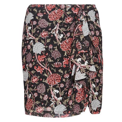 Υφασμάτινα Γυναίκα Φούστες Ikks BN27105-02 Black / Multicolour