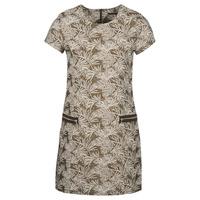Υφασμάτινα Γυναίκα Μακριά Φορέματα Ikks BN30165-65 Kaki / Beige