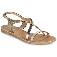 Παπούτσια Γυναίκα Σανδάλια / Πέδιλα Les Tropéziennes par M Belarbi HANANO Gold