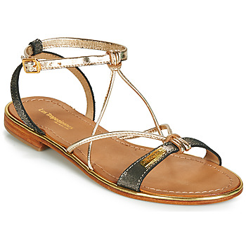 Παπούτσια Γυναίκα Σανδάλια / Πέδιλα Les Tropéziennes par M Belarbi HIRONDEL Black / Irisé