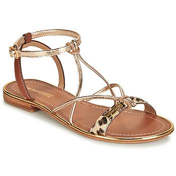 Παπούτσια Γυναίκα Σανδάλια / Πέδιλα Les Tropéziennes par M Belarbi HIRONDEL Leopard / Gold