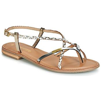 Παπούτσια Γυναίκα Σανδάλια / Πέδιλα Les Tropéziennes par M Belarbi MONATRES Άσπρο / Gold