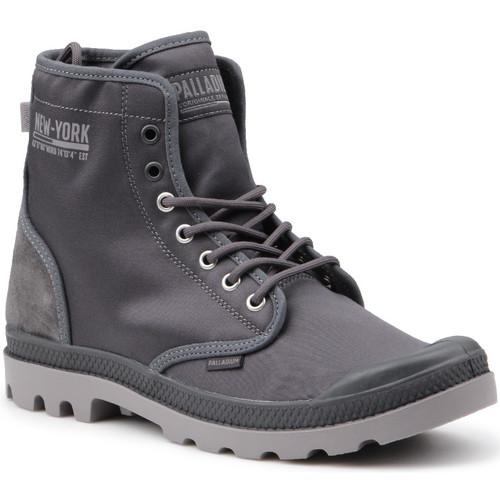 Παπούτσια Άνδρας Ψηλά Sneakers Palladium Pampa Solid Ranger 76013-075-M grey