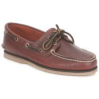 Παπούτσια Άνδρας Boat shoes Timberland CLASSIC 2 EYE Rootbeer / Smooth