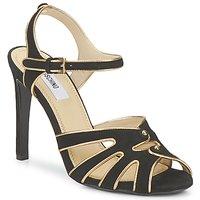 Παπούτσια Γυναίκα Σανδάλια / Πέδιλα Moschino MA1604  000-μαύρο