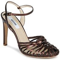 Παπούτσια Γυναίκα Σανδάλια / Πέδιλα Moschino MA1603 Ebano